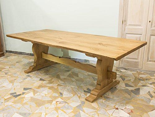 Ebanisteria Gambella - Mesa de comedor rústica