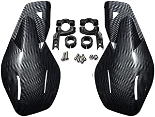 JenNiFer Motorrad ATV Fahrrad Handschutz Handschutz Protector 22Mm 7/8 Zoll Lenker Universal   Kohlefaser