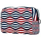 Bolsa de viaje para cosméticos portátil, partición ajustable, utilizada para brochas de maquillaje, cactus en maceta rosa