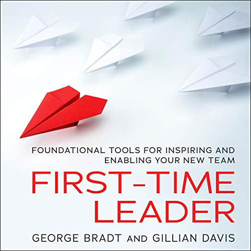 First-Time Leader audiobook cover art