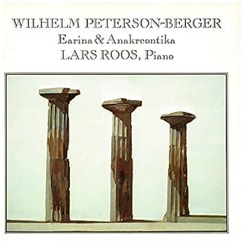 Wilhelm Peterson-Berger: Earina & Anakreontika