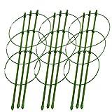 """DatingDay 3Pcs Trellises for Plants,Durable Vine Climbing Rack Trellises,Gardening Tools for Planter (18"""")"""