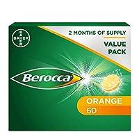 Berocca Performance Orange Effervescent 60 Tablets Exclusive Size
