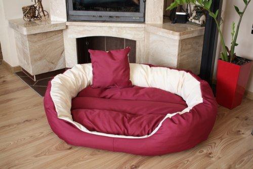 Cama para perros Perros Cojín perros sofá cesta perros y gatos animales cama 110cm x 80cm, XXL, impermeable