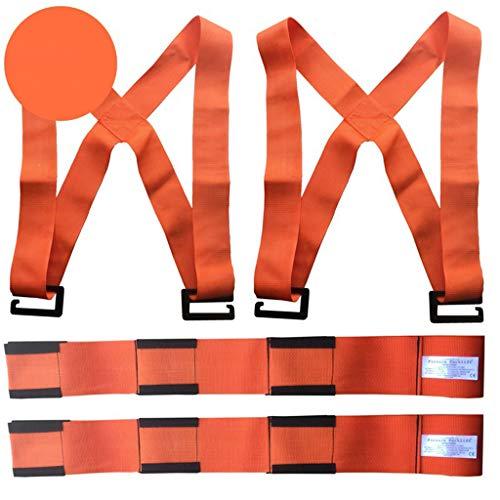 ZJ-SUMBRELLA Cinturón de Transporte Mayor Calidad 8 cm de Ancho Cinturón de Transporte Electrodomésticos Muebles para mudarse en el Piso Superior Ahorro de Mano de Obra Correas de Cuerda móviles