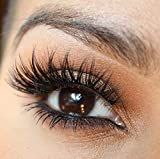 Sunny Mink Eyelashes 1 Pair 5D False Lashes 25mm Hand Made Eyelashes Extensions Makeup Full Thick Mink Lashes Handmade Natural Eyelashes