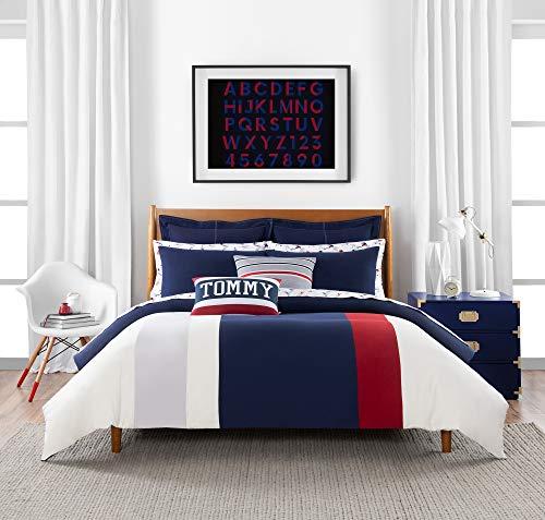 Tommy Hilfiger Clash of 85 Stripe Comforter Set, Full/Queen, Multi