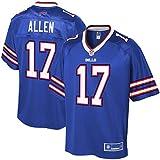 NFL PRO LINE Men's Josh Allen Royal Buffalo Bills Logo Player Jersey