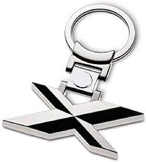 Madison Bogoo 3D Metall Chrom für 1/3/5/6/X Serie Autoschlüsselanhänger Auto Logo