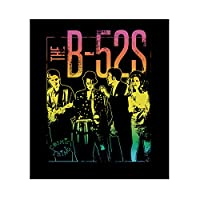 C&D Visionary B-52's Vintage Group Sticker, Multi-Colored