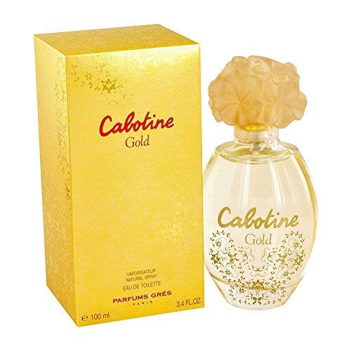 Cabotine Gold by Gres Eau de Toilette Spray 100ml