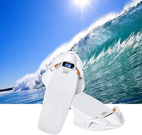 Tabla de suspensión eléctrica Scooter Submarino Surf Board Mar de 4 Niveles rotacional rotacional Agua skatebae Tabla de Surf Adelante para Nadar, Surf, inmersiones Poco Profundas BJY969