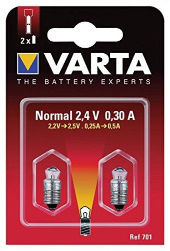 Krypton Ersatzlampe KPR102 2,4 V - 0,7A
