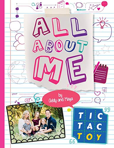 Compare Textbook Prices for Tic Tac Toy All About Me  ISBN 9781729676455 by Addy & Maya