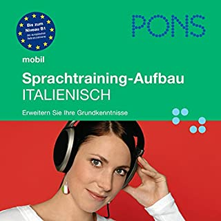 PONS mobil Sprachtraining: Aufbau Italienisch Titelbild