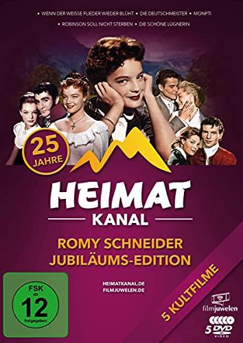 Romy Schneider Jubiläums-Edition (25 Jahre Heimatkanal) [5 DVDs]