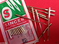 SINGER DOMESTIC SEWING MACHINE NEEDLES, SIZE 18, (2020/110/18), ONE PACK OF 10 NEEDLE, NEW SEALED