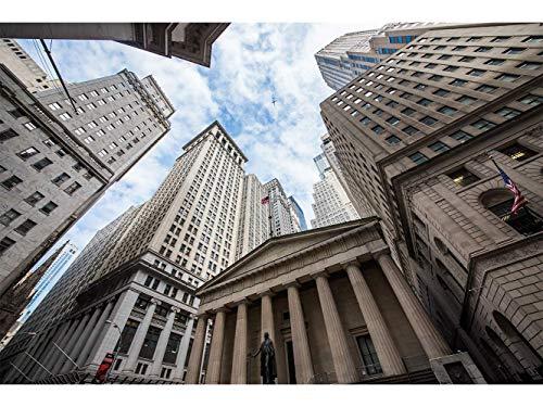 Oedim Stickers muraux Photo Image | Vues de Wall Street | De 500 x 300 cm | Sticker Vinyle Adhésif Autocollant Fond Mural |