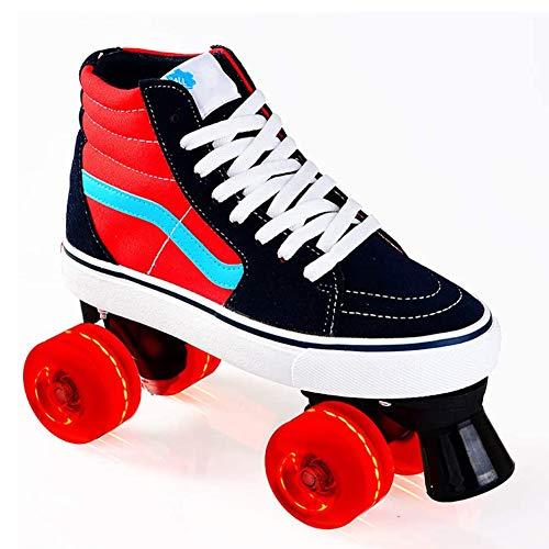 HealHeatersR rolschaatsen voor meisjes met lichte wielen rolschaatsen gemaakt voor kinderen hoge top Sneaker stijl, geweldig voor beginners