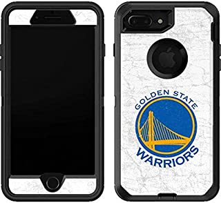 Skinit Decal Skin for OtterBox Defender iPhone 7 Plus - Officially Licensed NBA Golden State Warriors Distressed Design