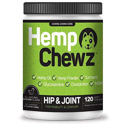 Hemp Chews Hip And Joint Supplement For Dogs