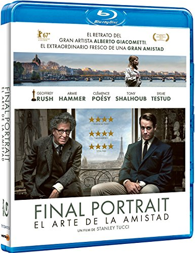 Final Portrait: El Arte De La Amistad [Blu-ray]