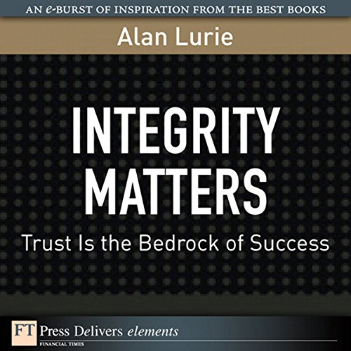 Integrity Matters audiobook cover art