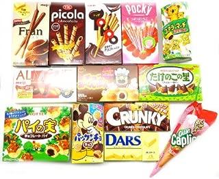 おかしのマーチ 13種類のチョコレート菓子食べ比べセット