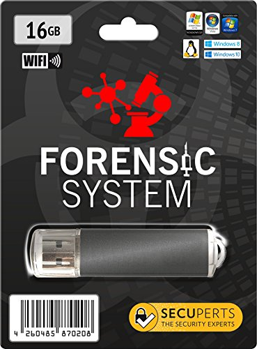 SecuPerts Forensic System - Analyse-Tool für Computer und Netzwerk - USB 3.0 Stick