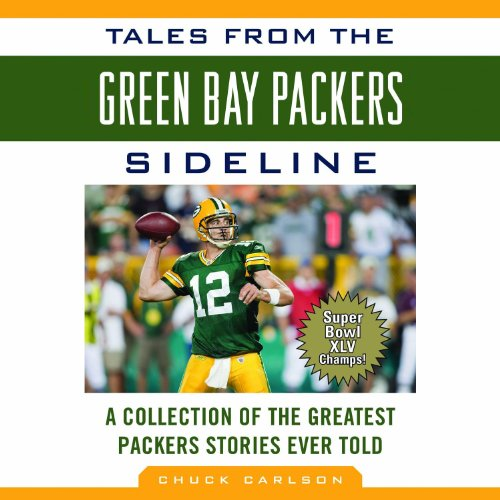 Tales from the Green Bay Packers Sidelines audiobook cover art