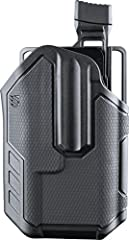 Multi-fit: Omnivore Holsters fit more than 150 styles of semi-automatic handguns with an accessory rail (Compatible with StreamLight TLR 1&2 light bearing) Active retention mechanism: ergonomic thumb-activated retention mechanism delivers instant fir...