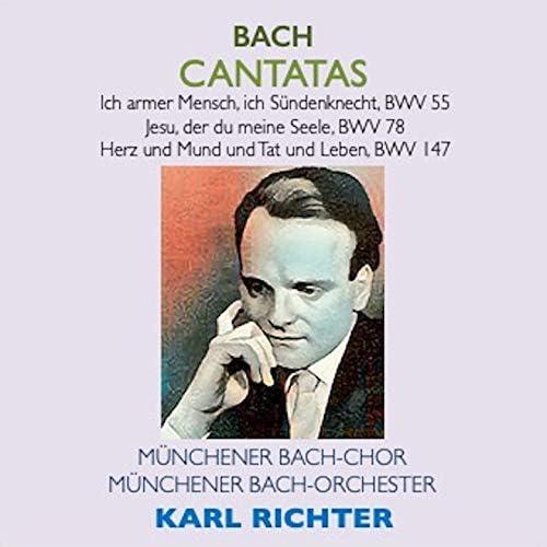 Ernst Haefliger, Aurèle Nicolet, Edgar Shann, Karl Richter & Müncher Bach-Orchester
