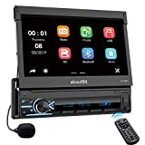 Best Car Stereos - Single Din Retractable Car Stereo MP5 Player,aboutBit 7 Review
