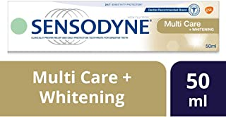 Sensodyne Multi Care + Whitening Toothpaste, 50ml