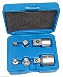 AERZETIX: Juego de 6 adaptadores para llave de vaso 1/4-3/8 1/2-3/8 3/4-1/2