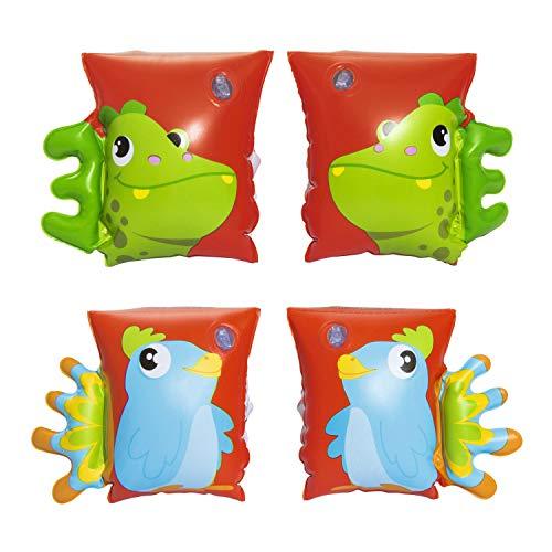 Bestway Schwimmflügel, Dino und Papagei für Kinder, 5-12 Jahre, sortiert