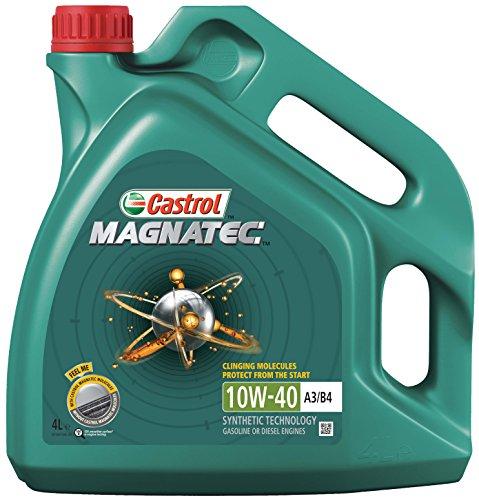 SMC Castrol Magnatec 10W-40 - Benzina/Olio Motore Diesel parzialmente Sintetico 4L