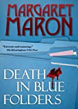 Death in Blue Folders (A Sigrid Harald Mystery Book 3)