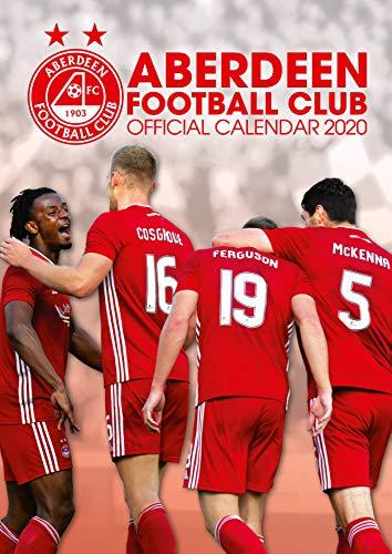 Aberdeen FC 2020 Calendar - Official A3 Month to View Wall Calendar