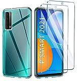 AROYI Hülle Kompatibel mit Huawei P Smart 2021 mit 2