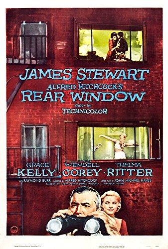 Posterazzi Rear Window Grace Kelly James Stewart 1954. Movie Masterprint Poster Print, (11 x 17)