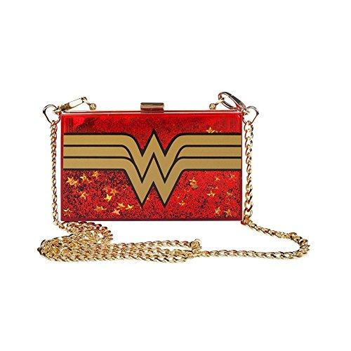 DC Comics Wonder Woman Glitter Cross Body Bag