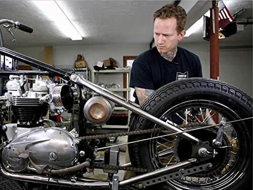 Fabricating a Vintage Triumph Bobber Custom Oil Tank and Seat Install