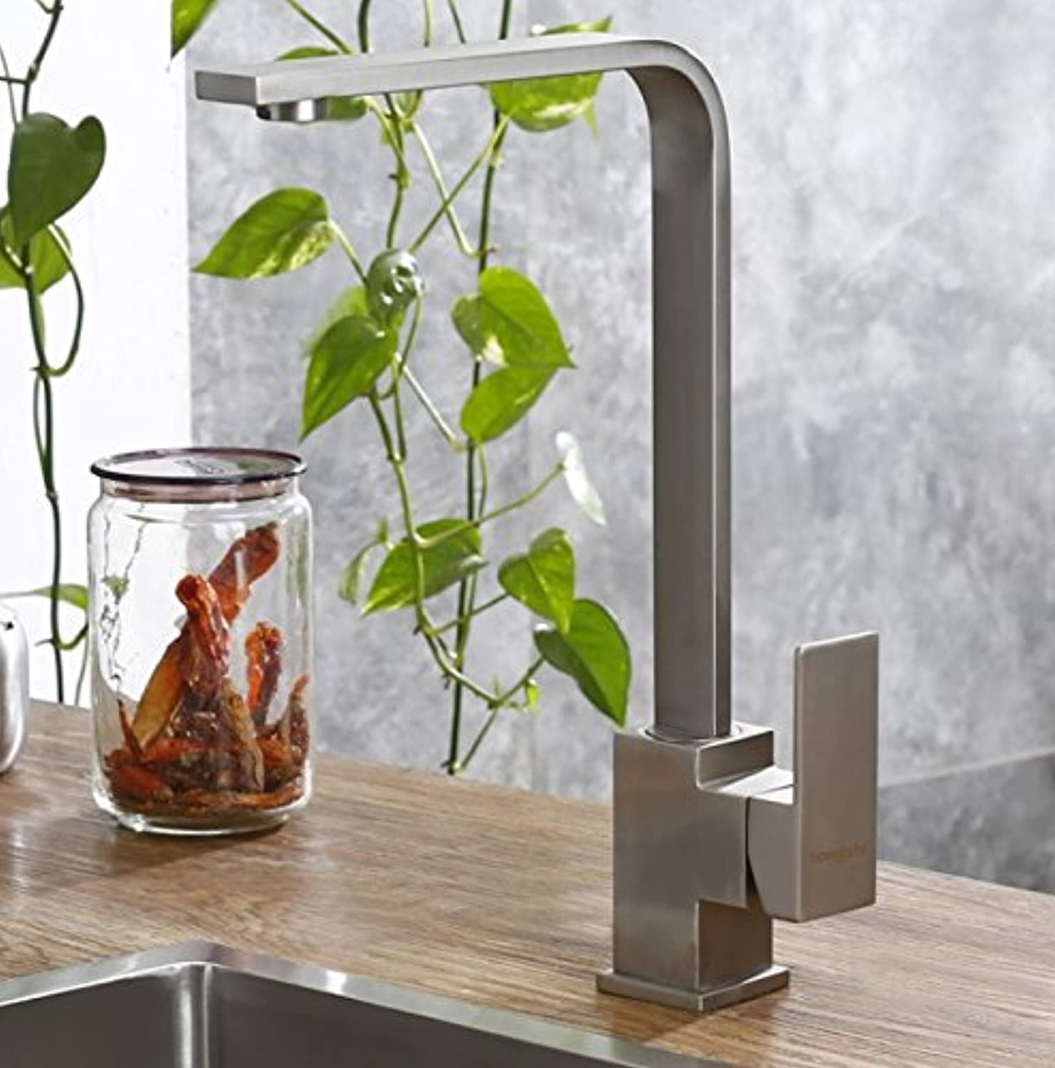 Diongrdk Kaiping Faucet, All Copper, Kitchen Faucet, Vegetable Basin, Faucet Faucet Faucet Faucet