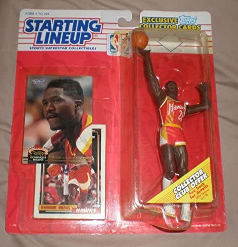 1993 Dominique Wilkins NBA Starting Lineup Figure by Starting Line Up