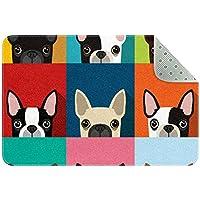 エリアラグ軽量 動物の犬のパターン フロアマットソフトカーペットチホームリビングダイニングルームベッドルーム