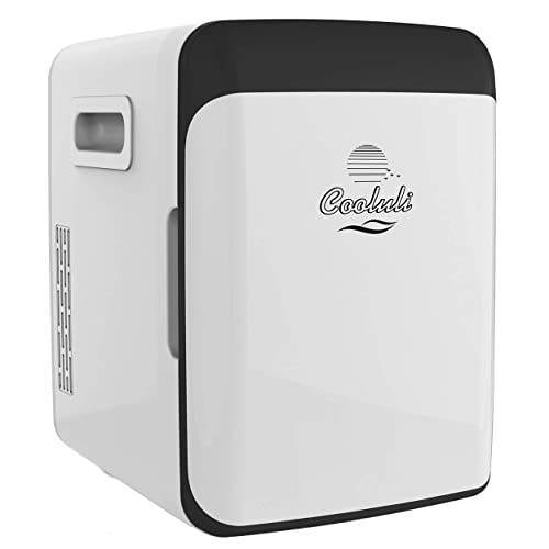 Cooluli Classic 10-liter Compact Cooler/Warmer Mini Fridge for Cars, Road Trips