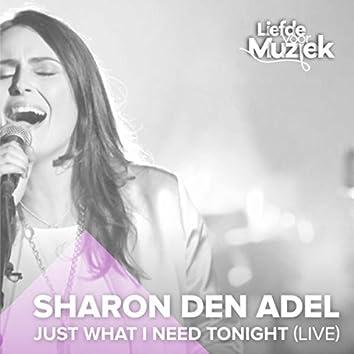 Just What I Need Tonight (Uit Liefde Voor Muziek) (Live)