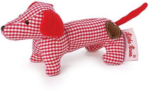 Käthe Kruse 0178376 Mini Greifling Dackel, rot
