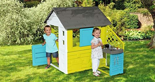 Pretty Spielhaus mit Außenküche (Smoby) - 12